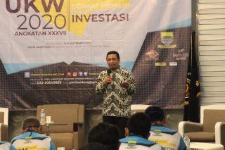 Ketua DPRD Kota Bandung, Tedy Rusmawan meminta seluruh masyarakat lebih meningkatkan kedisiplinan dalam melaksanakan protokol kesehatan covid19 pada acara Seminar  dan Uji Kompetensi Wartawan, Selasa (15/9/2020)*