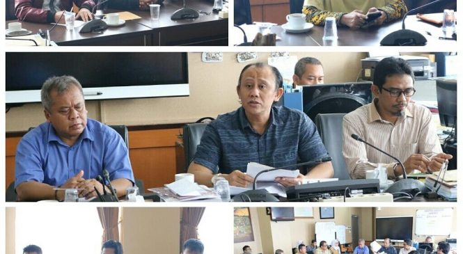 Rapat Kerja Gabungan Antara Komisi A dan Komisi D