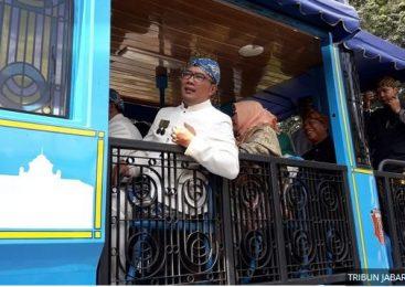 Emil Naik Bandros ke Kantor DPRD Kota Bandung