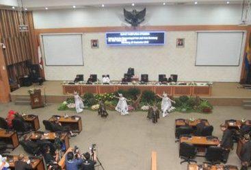 Ucapan Doa Untuk Haringga Sirla di Paripurna HUT Kota Bandung