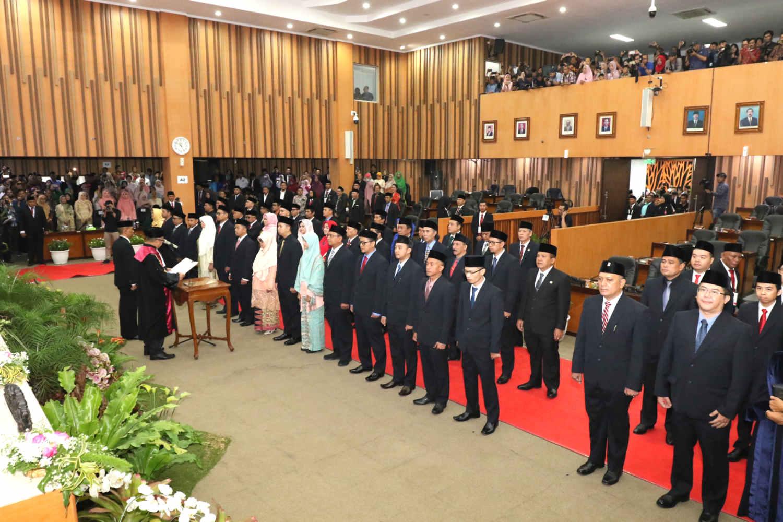 Pelantikan 50 Anggota DPRD Kota Bandung Periode 2019-2024