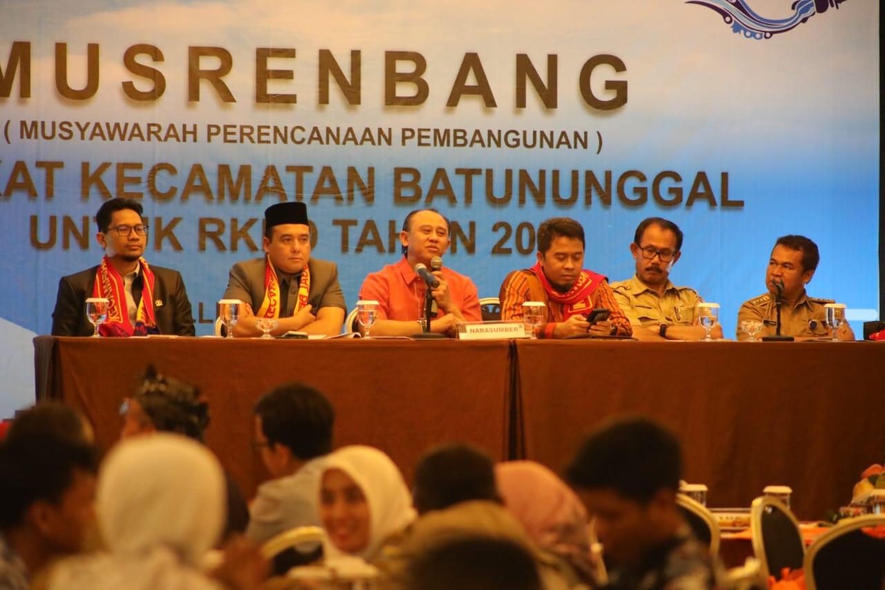 Achmad Nugraha Harapkan Musrenbang Kedepankan Program Prioritas