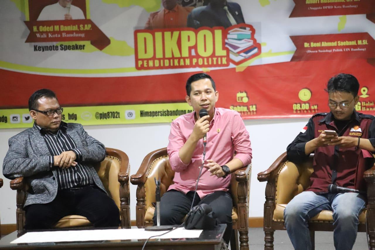 Andri Rusmana: Edukasi Politik di Kota Bandung Masih Rendah