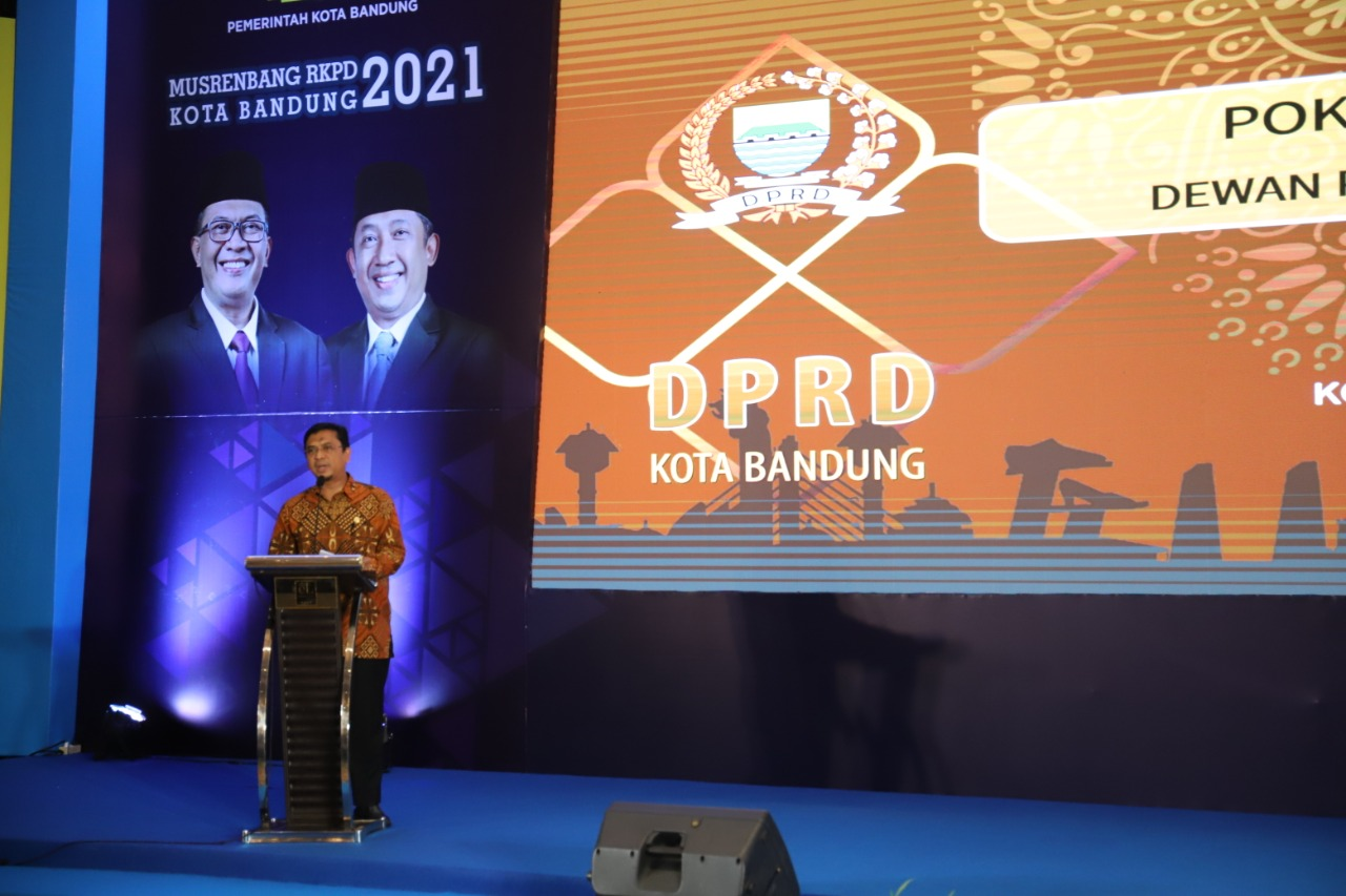 Ini 4 Poin yang Dititipkan Tedy Rusmawan di Musrenbang Kota Bandung 2021