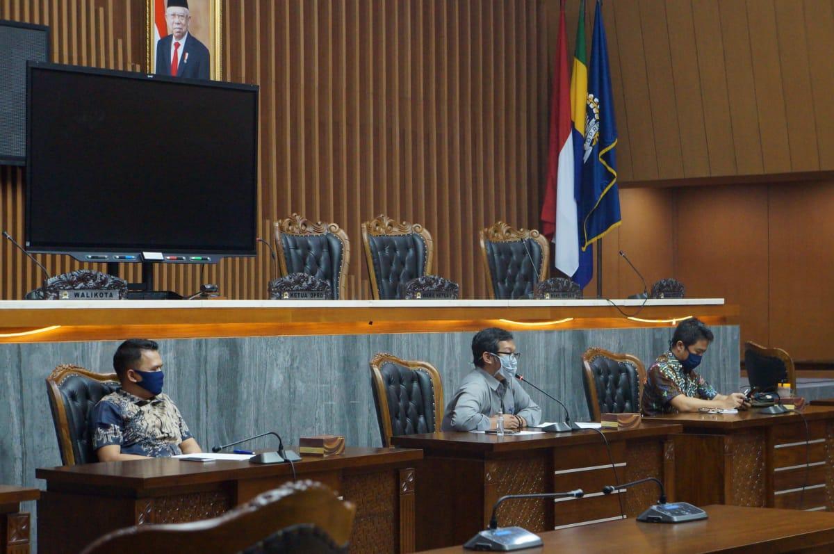 Ketua Dewan Ajak Semua Komisi Membantu Tangani Covid-19