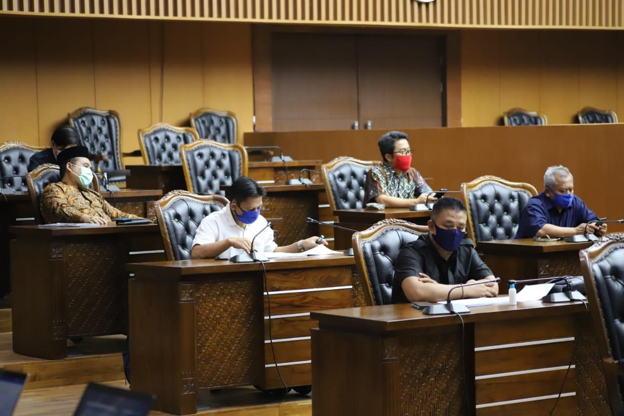 Pansus 4 Mulai Membahas LKPJ Walikota Bandung TA 2019
