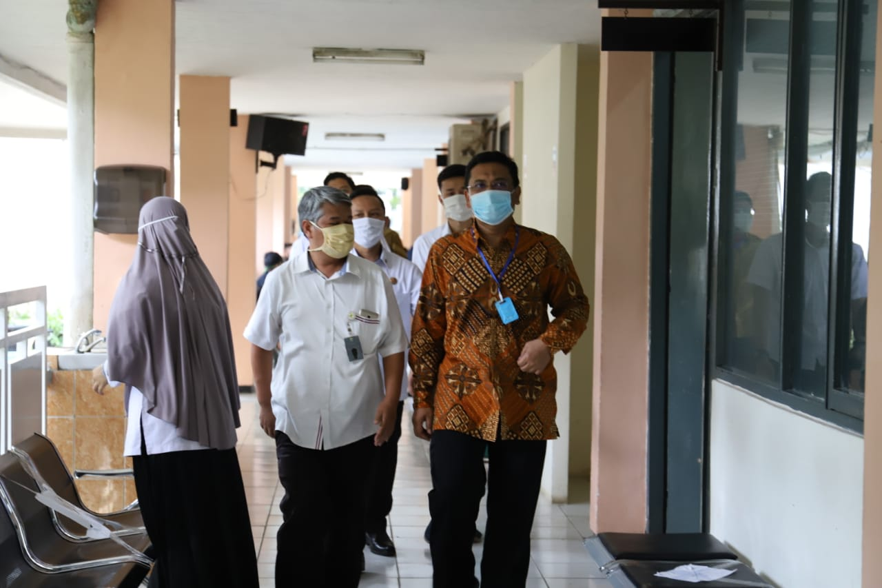 Ketua Dewan Kunjungi Laboratorium BSL 2 Dinkes Kota Bandung