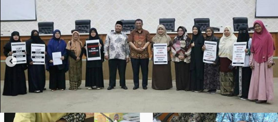 Wakil Ketua II DPRD Kota Bandung kunjungan aktivis Anti LGBT